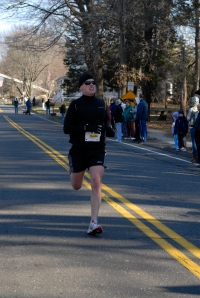 In the final meters of the Jingle Bell 5K, one of the few goals that were met in 08.