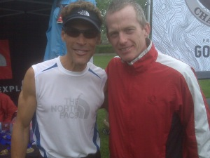 The writer and ultra legend Dean Karnazes