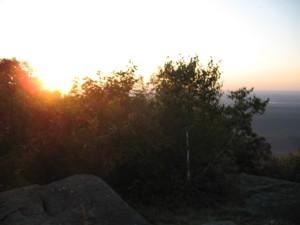 Sunrise at Ashokan